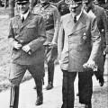 Ante Pavelić u posjeti Hitleru u Njemačkoj početkom rata
