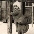 učenje klizanja sa sigurnosnim jastukom 1919.