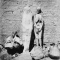 ulični prodavač mumija u Egiptu 1864.