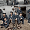 Američki mornari tijekom 1902. godine.
