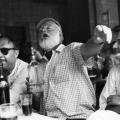 "Hemingway u omiljenom baru ""Sloppy Joe"" u Key Westu"