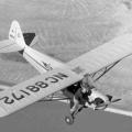 pokušaj pilota da ručno upali motor tijekom leta 40-tih