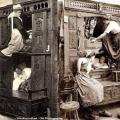 Spavaonica služavki tijekom 1846. u Britaniji