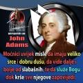 John Adams moćnici krše božje zapovjedi