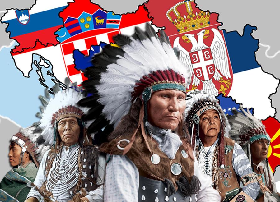 Balkanski sindrom je Slavene pretvorio u Indijance Europe
